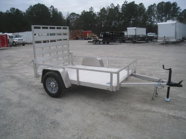 2019 Continental Cargo Rough Rider 5.5' x 8 Aluminum Utility Trailer