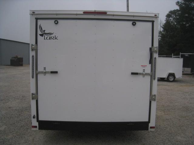 2020 Lark Economy 7 x 16 Vnose Enclosed Cargo Trailer