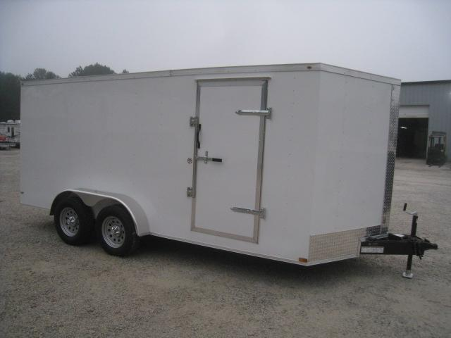 2020 Lark Economy 7 x 16 Vnose Enclosed Cargo Trailer
