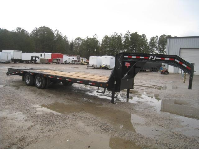 2020 PJ Trailers LD 20 + 5 Equipment Trailer