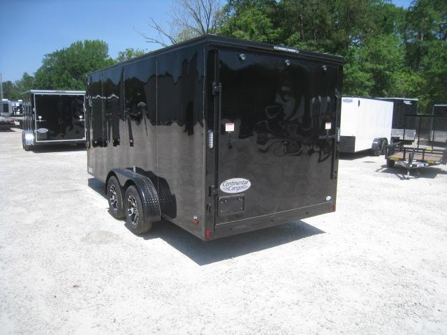 2020 Continental Cargo Sunshine 7 x 16 Vnose Enclosed Cargo Trailer