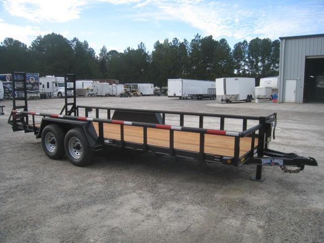 2019 Texas Bragg Trailers 20 Big Pipe Equipment Trailer