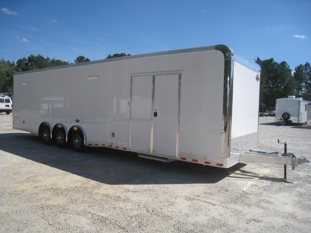 2020 Cargomate Aluminum Eliminator 34' Race Trailer Loaded