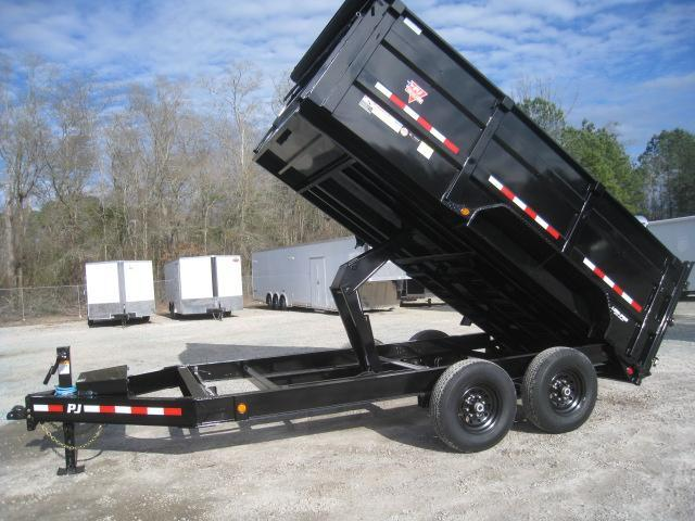 2020 PJ Trailers DM 14 x 83 High Side Dump Trailer