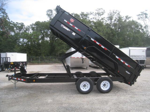 2020 PJ Trailers 16 x 83 DM Low Pro High Side Dump Trailer