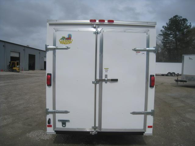 2020 Covered Wagon Trailers Silver Series 6x12 Enclosed Cargo Trailer