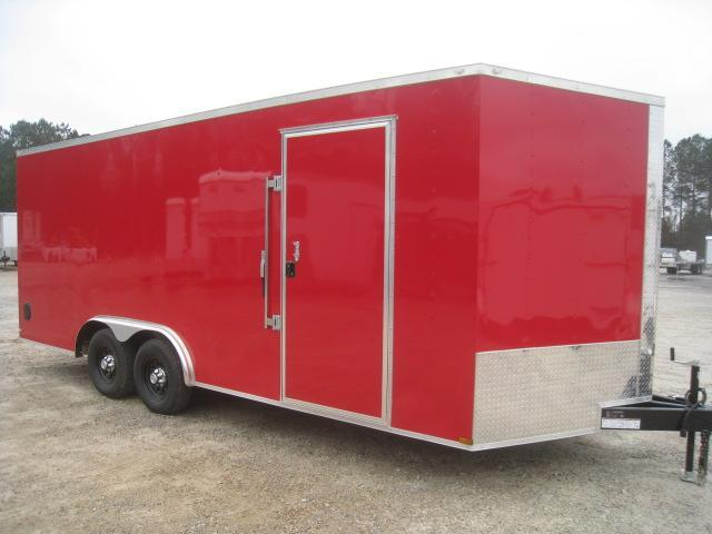 2020 Lark 8.5 X 20 Vnose Car / Racing Trailer