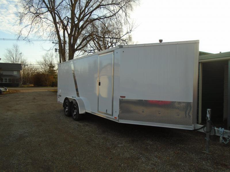 2020 Pace American 7x23 7k High Mark Snowmobile Trailer