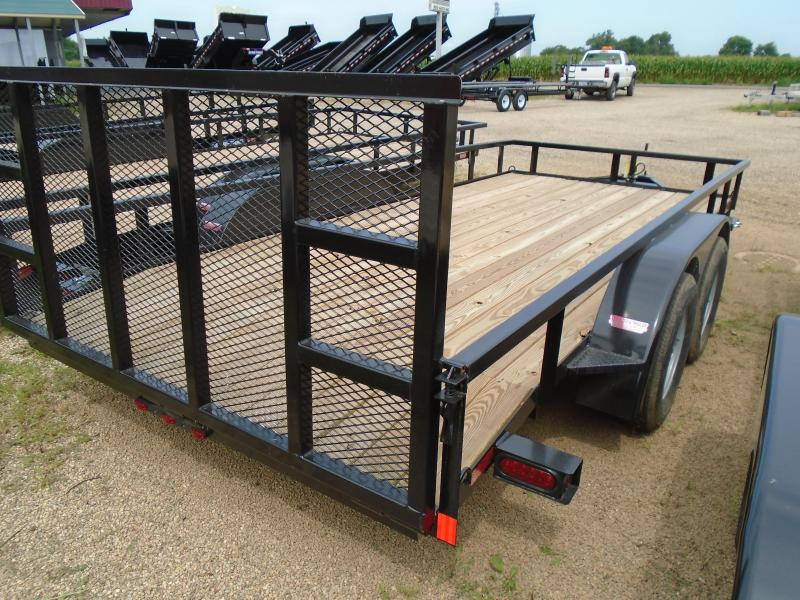 2020 GE 7x16 Deluxe Landscape Utility Trailer