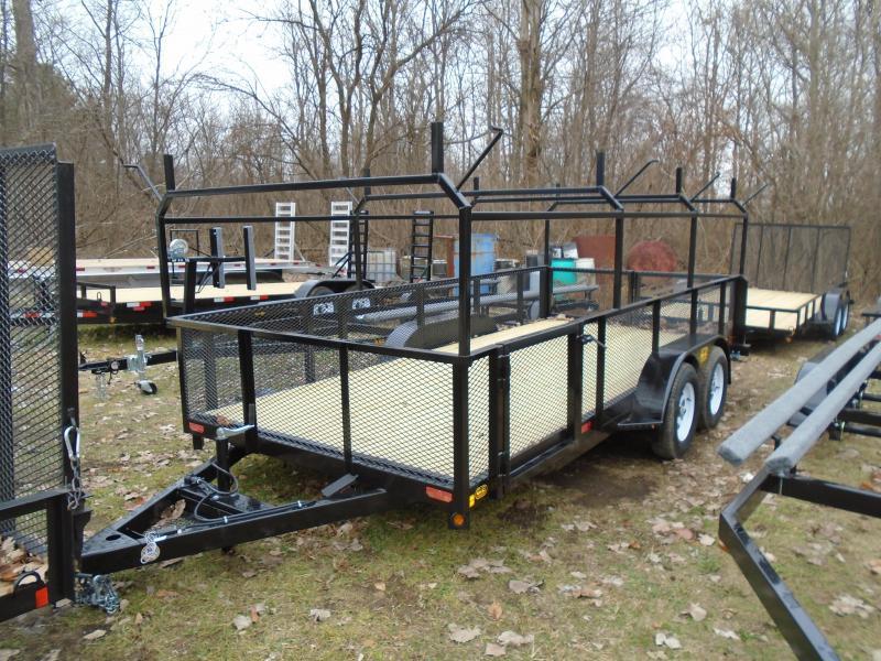 2020 GE 7x16 7k Contractor's Special Landscape Utility Trailer