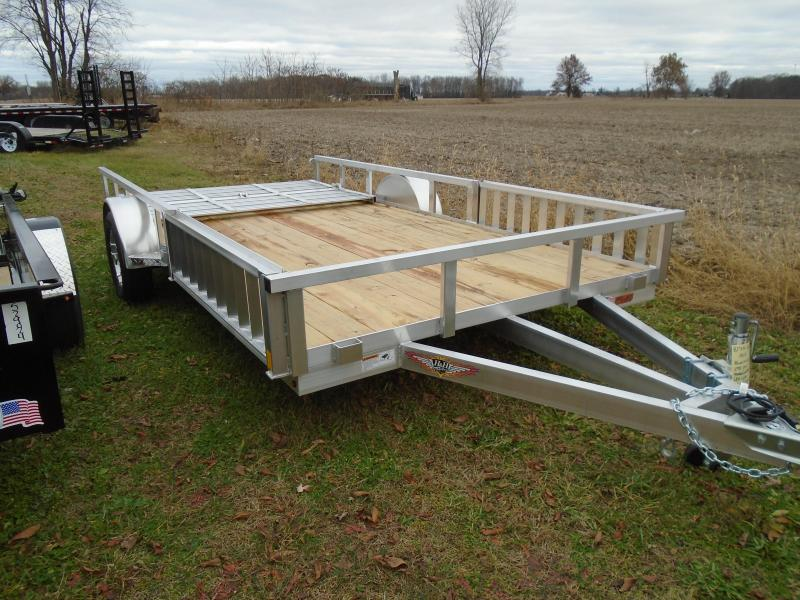 "2020 H & H Trailers 82""x14 ATV Railside SA Utility Trailer"
