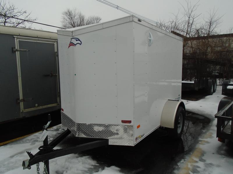 2020 American Hauler 5x8 SA Arrow Enclosed Cargo Trailer