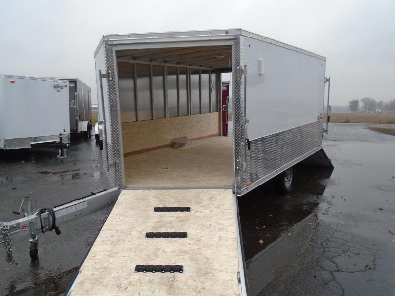 2020 Cargo Express 8.5x12 SA Denali Snowmobile Trailer