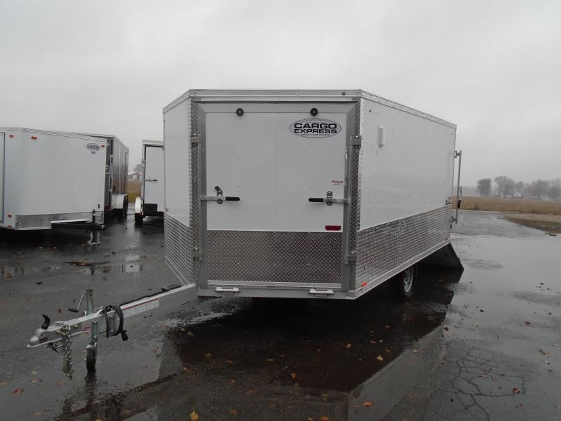 2020 Cargo Express 8.5x12 SA Denali Snowmobile Trailer