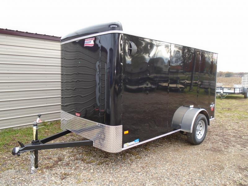 2019 American Hauler Industries 6x12 Air lite cargo/ enclosed trailer