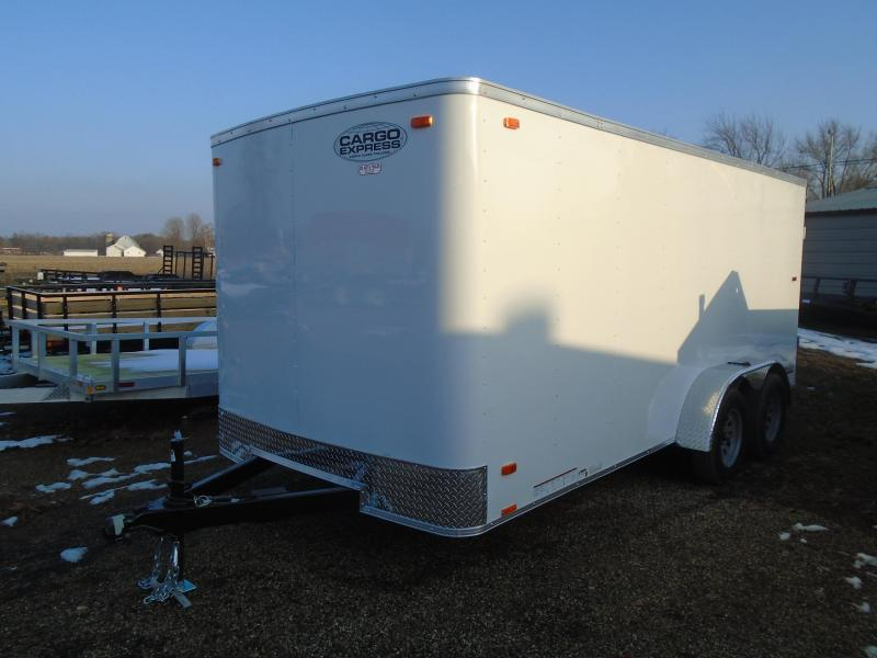 2020 Cargo Express 7x16 EX Series 7k Enclosed Cargo Trailer