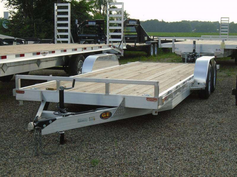 2019 GE 20' aluminum/ wood 10k Car / Racing Trailer