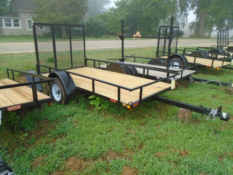 2020 GE 5x10 straight tongue light duty w/ gate Utility Trailer