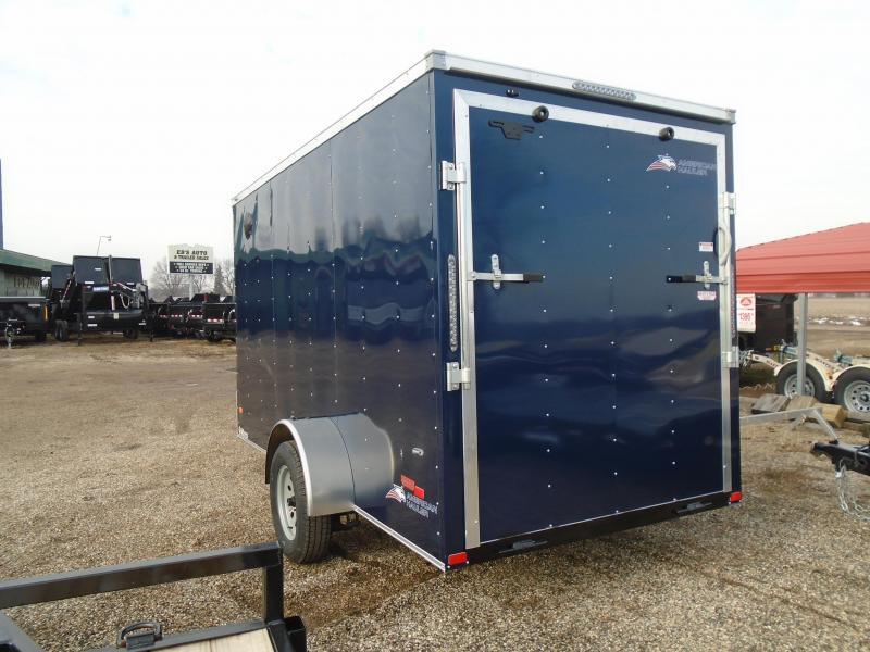 2020 American Hauler 6x12 Arrow SA Enclosed Cargo Trailer
