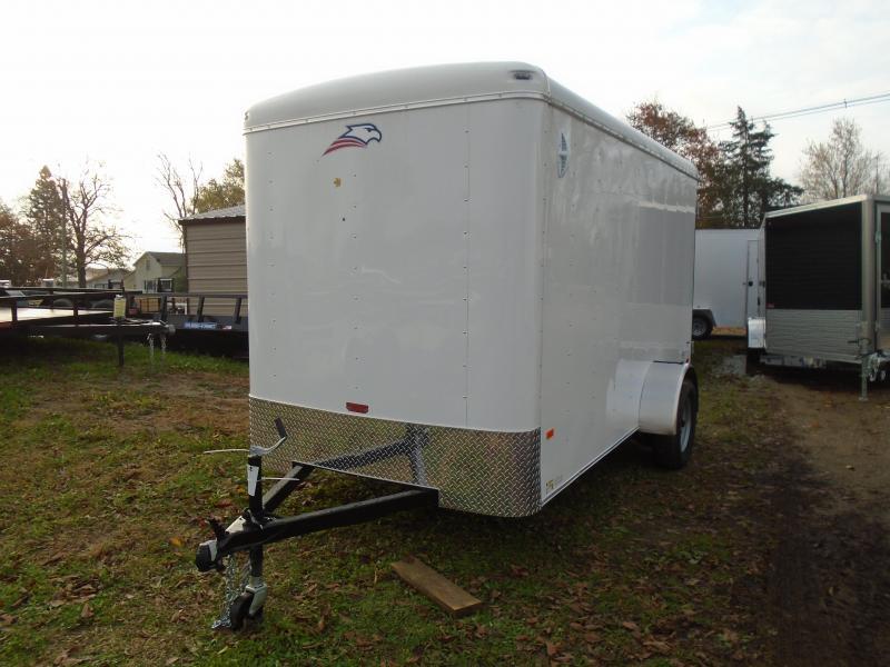 2020 American Hauler 6x12 Airlite SA Enclosed Cargo Trailer