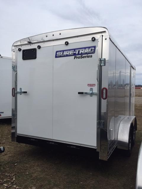 2020 Sure-Trac 7x14 7k Pro Series RT Enclosed Cargo Trailer