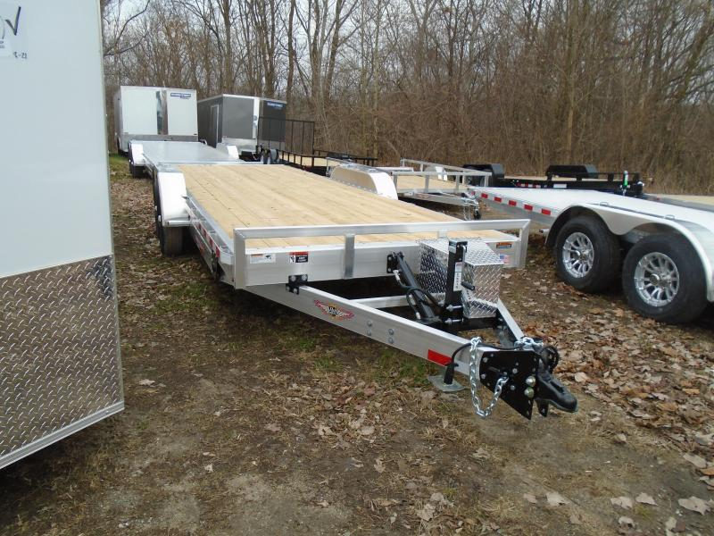 "2020 H & H Trailers 82""x22' 14k speedloader tilt Car / Racing Trailer"