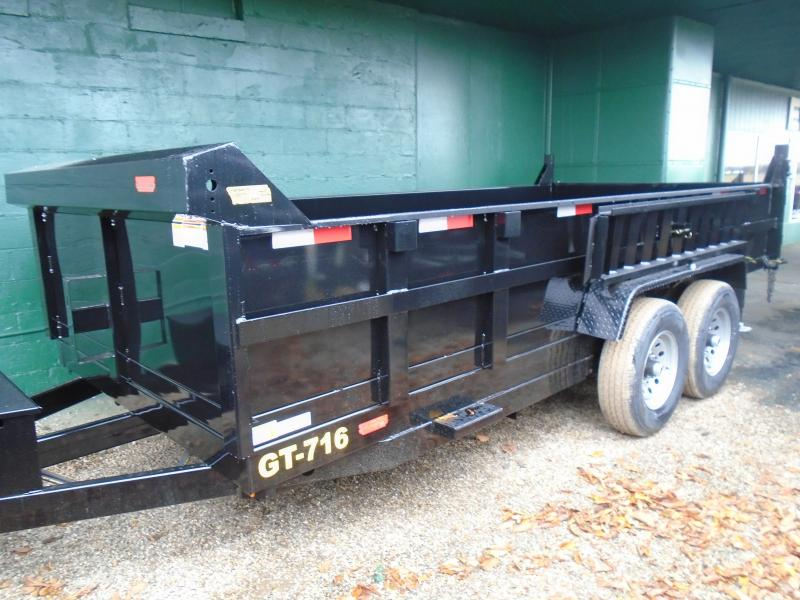2020 Interstate 7x16 dual ram 14 k Dump Trailer