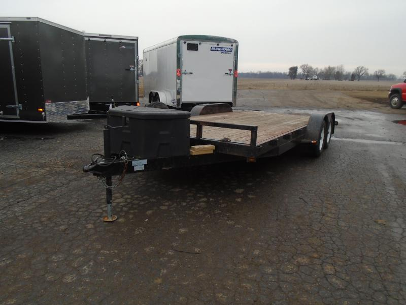2014 GE 18' Autotransport 7k Car / Racing Trailer