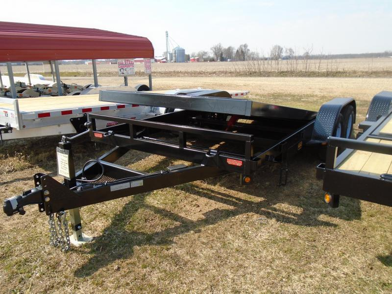2020 GE 18' tilt 7k Equipment Trailer