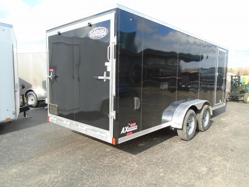2020 Cargo Express 7x23 7k Snowmobile Trailer