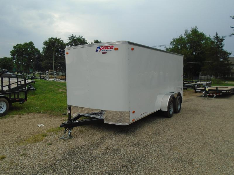 2020 Pace American 7x16 Outback 7k Enclosed Cargo Trailer