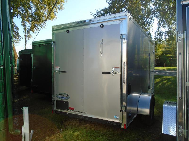 2019 Continental Cargo 6x12 SA V Series Enclosed Cargo Trailer