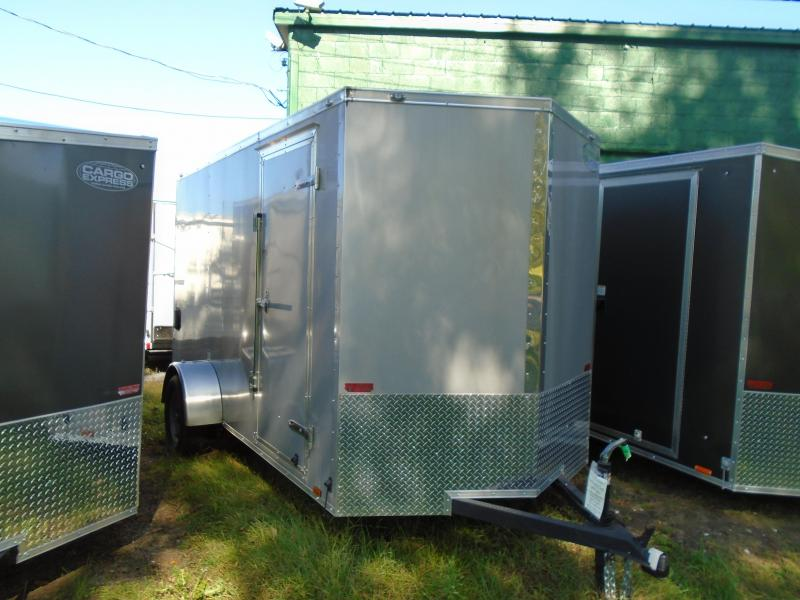 2019 Continental Cargo 6x12 SA V Series Enclosed Cargo Trailer
