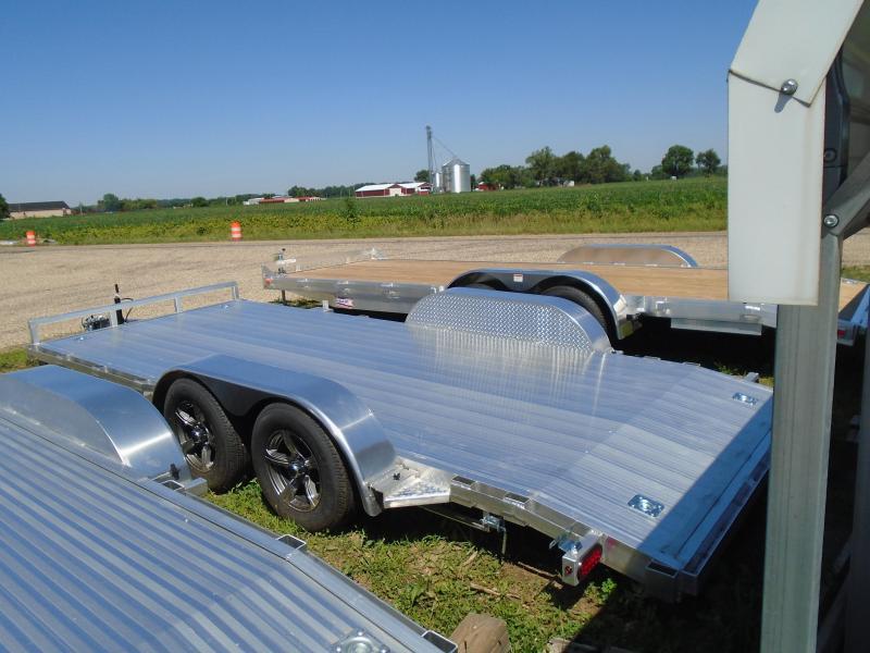 2020 GE 18 Aluminum AutoTransport Car / Racing Trailer
