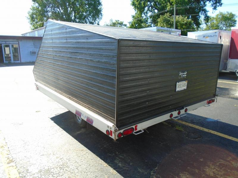 "1999 Other Rough Ride 102""x 10' two place Snowmobile Trailer"