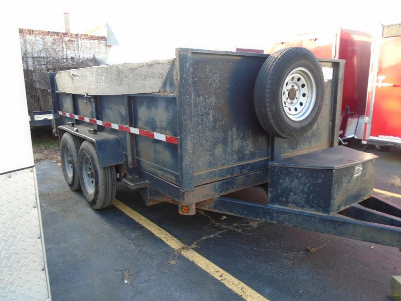 2006 Quality Steel and Aluminum 7x12 steel dual ram 12k Dump Trailer