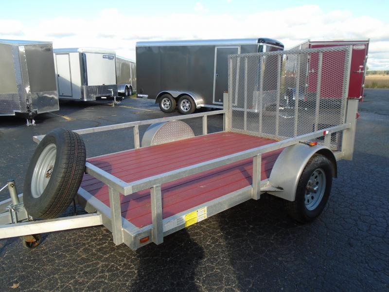 2018 Cargo Mate 6 1/2 x 10 SA Utility Trailer