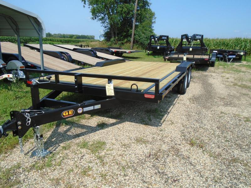 2020 GE 18 Drive Over Fender 7k Equipment Trailer