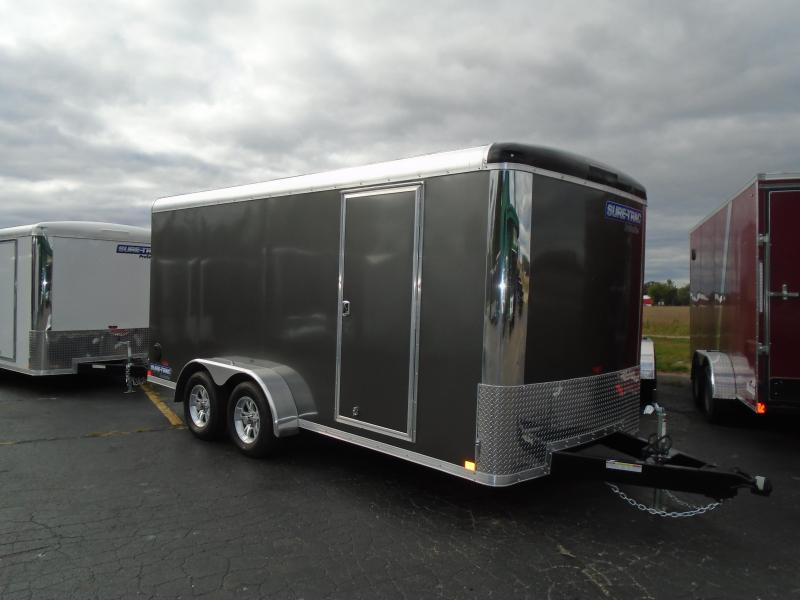 2020 Sure-Trac 7x16 7k Pro Series RT Enclosed Cargo Trailer