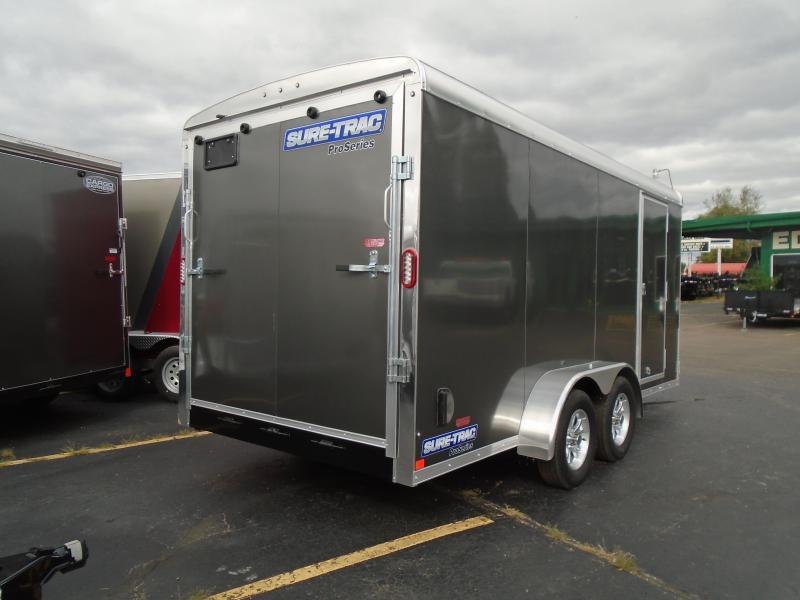2020 Sure-Trac 7x16 7k Pro Series RT Enclosed Cargo Trailer