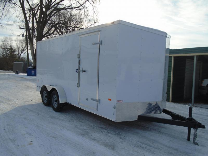 2020 American Hauler 7x16 7k Arrow Enclosed Cargo Trailer