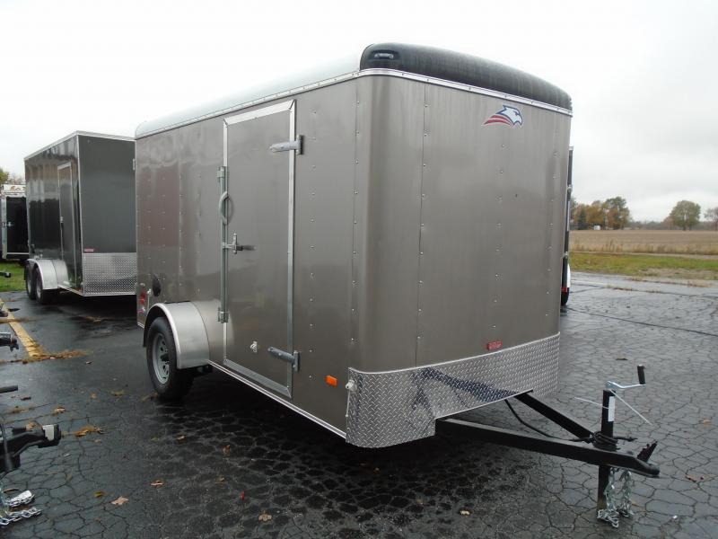 2020 American Hauler 6x12 Air Lite SA Enclosed Cargo Trailer