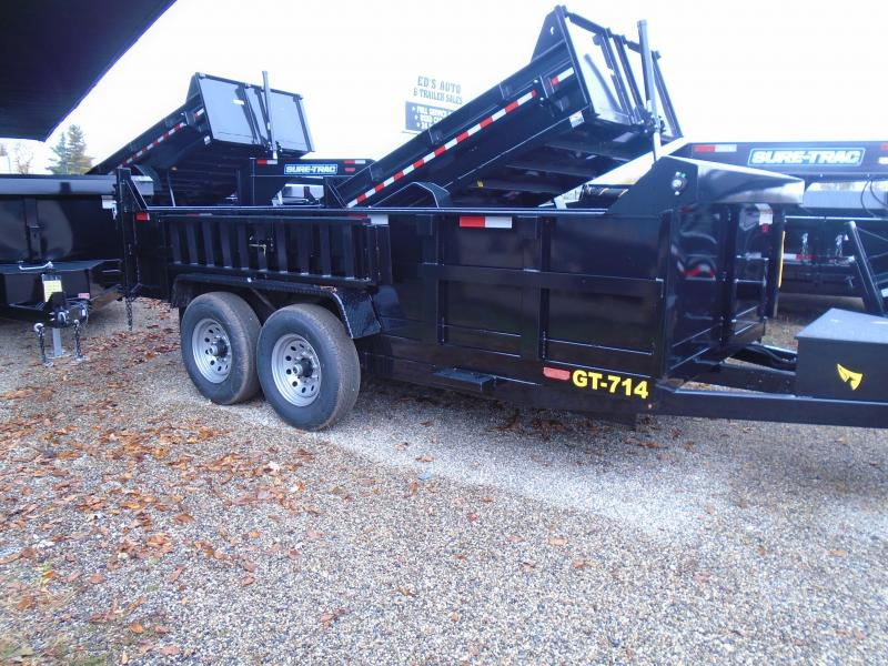 2020 Interstate 7x14 dual ram 14k Dump Trailer