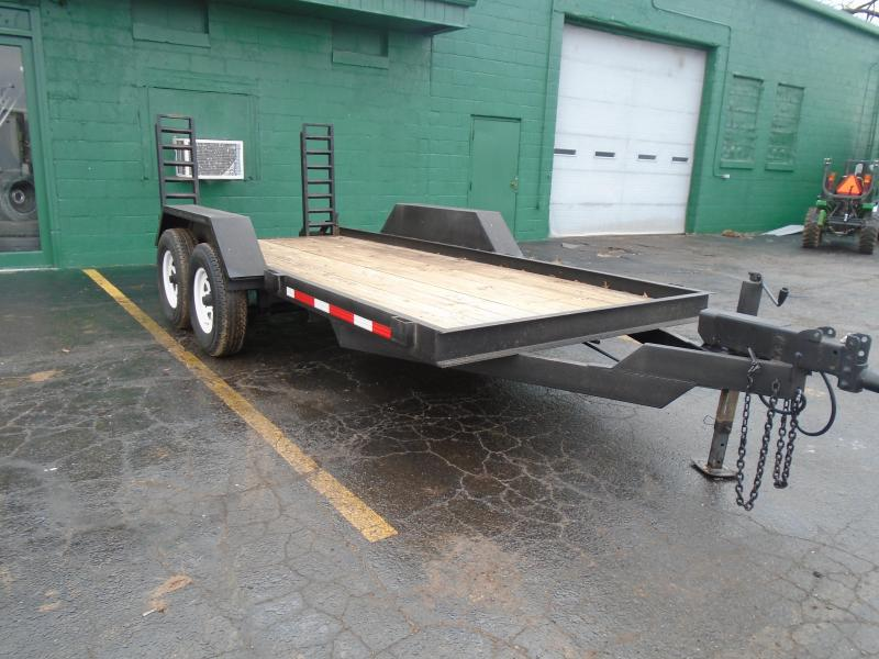 1995 Cronkhite 6x15 10k Bobcat/ Equipment Trailer