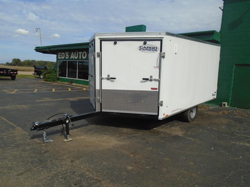 2020 Cargo Express 8.5x12 Denali Snowmobile Trailer