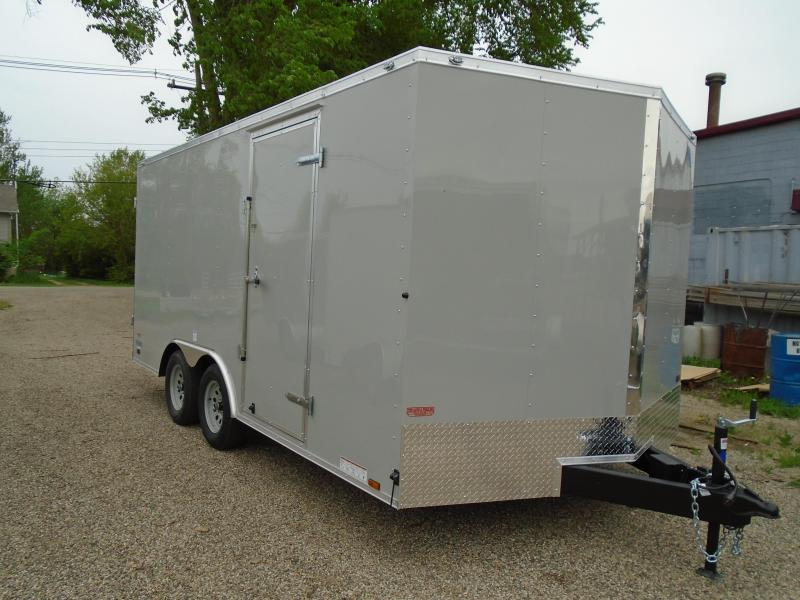 2019 Continental Cargo 8.5x16 V Series Enclosed Cargo Trailer
