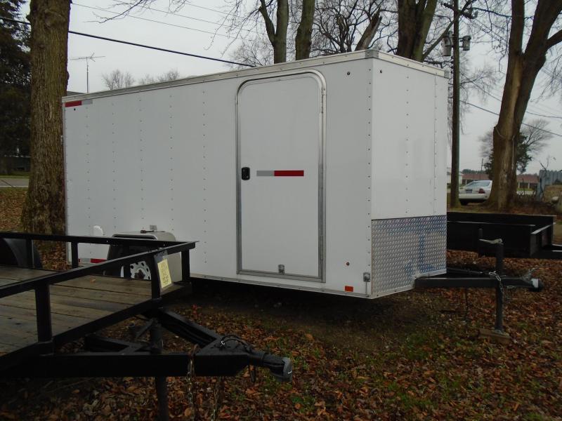 Rental 6 X 12 Enclosed Cargo Trailer