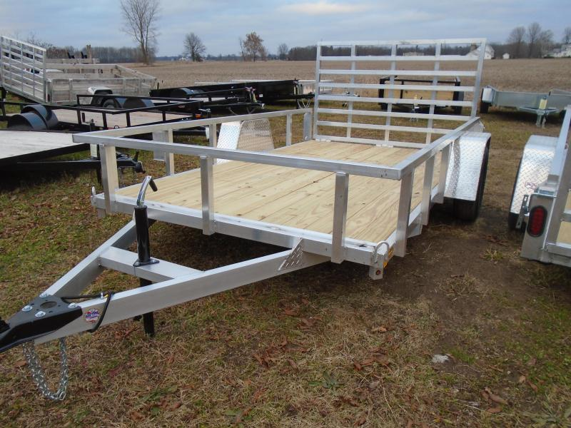 GE 2020 aluminum 7x12 utility trailers