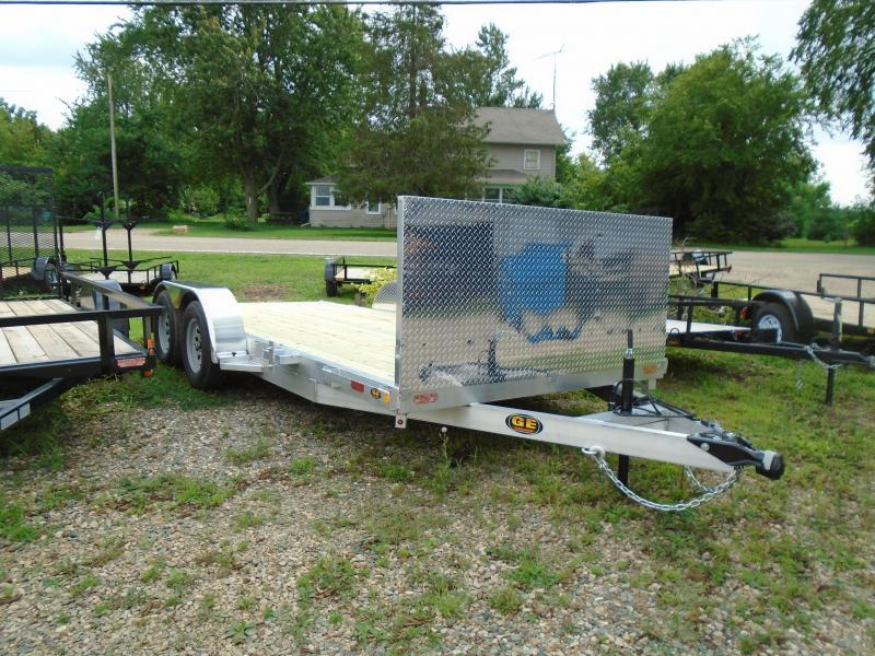 2019 GE 16' Aluminum Autotransport Car / Racing Trailer