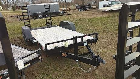 2020 16' Low Pro Bobcat-Machinery GE Equipment Trailer